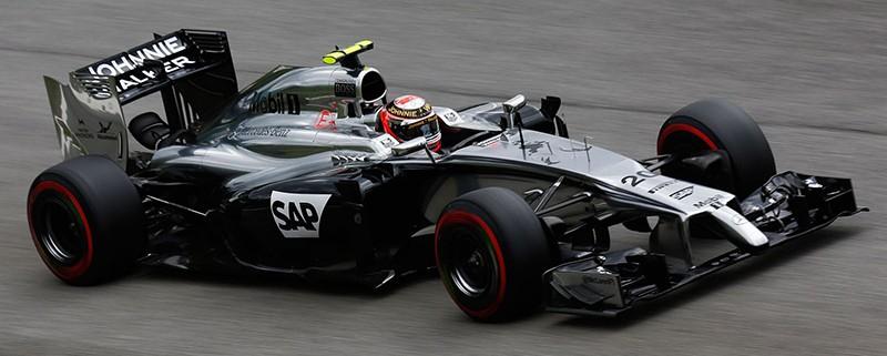 F1 car at Abu Dhabi
