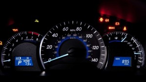 Toyota Camry dashboard lights