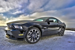 Ford Mustang on Ice