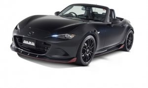 Mazda Mx 5 Matt black