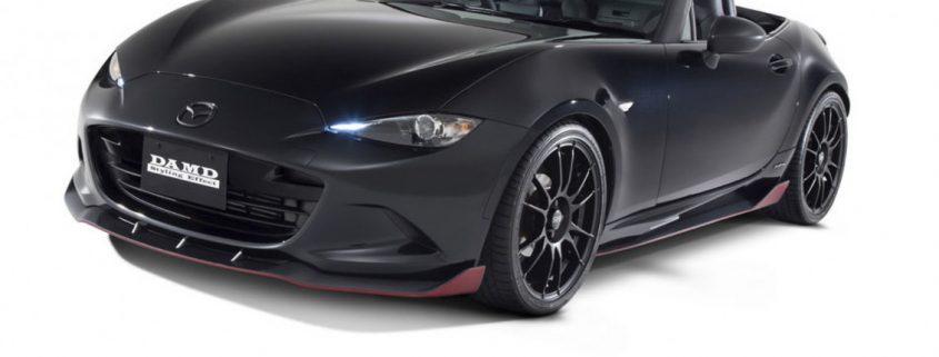 Mazda Mx 5 Matt black