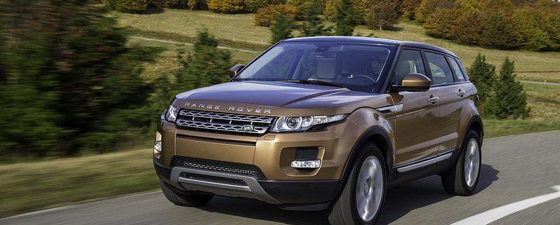 Range Rover in Dubai