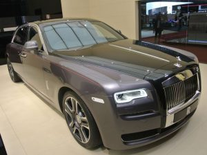 Rolls Royce Ghost in Dubai