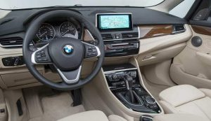 2018 BMW X2 interior