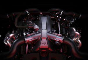 MC Laren 720s Engine