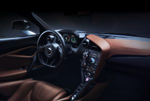 MC Laren 720s Interior