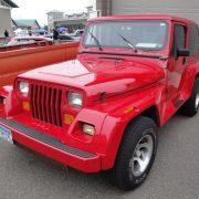 Customised Jeep UAE