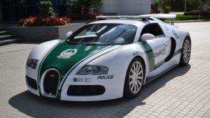 Dubai Police Buggati