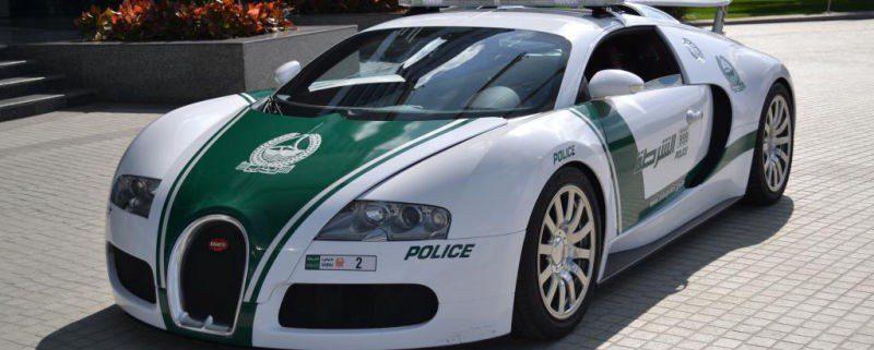 Dubai Police Buggati Veyron