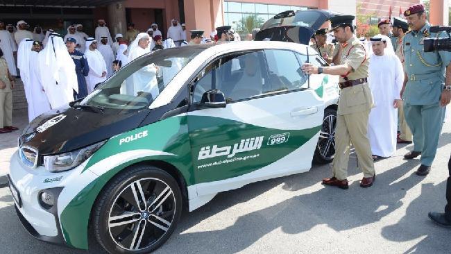 Dubai Police BMW i3