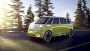 BMW Electric Van concept