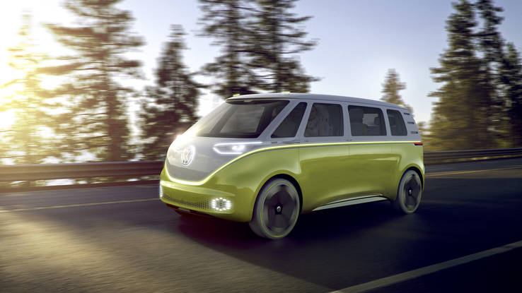 BMW Electric Van concept