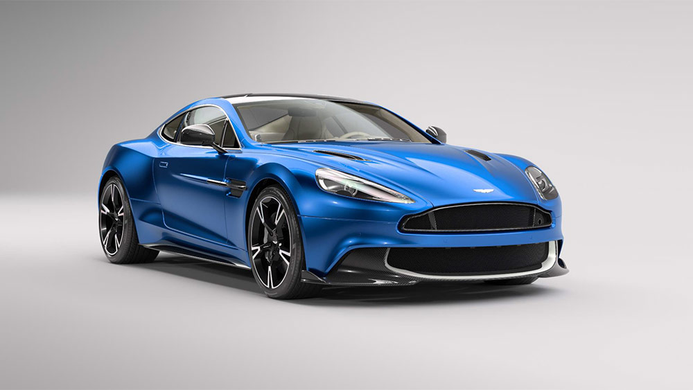 On Its Way To The Middle East Its The Aston Martin Vanquish S - Aston martin austin