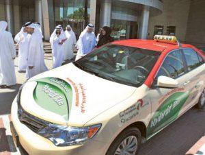 Dubai Hybrid Taxi