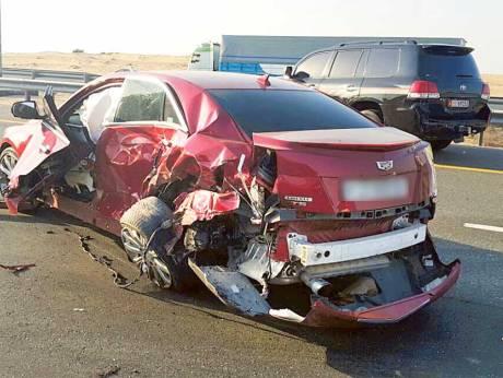 Car Accident Dubai