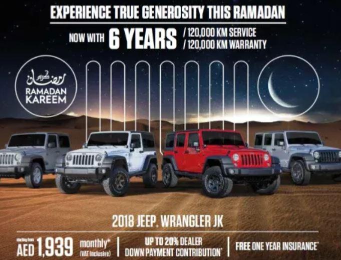 Jeep Ramadan 2018 Deal 2