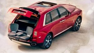 Rolls Royce SUV Dubai