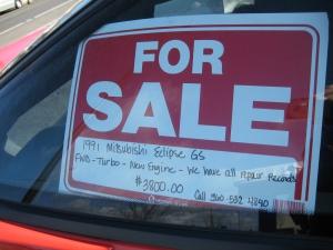 Seling Car In UAE