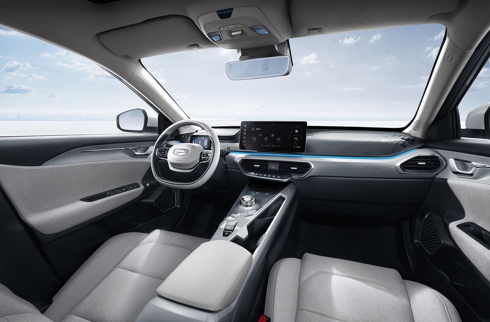 Geely Electric Auto interior