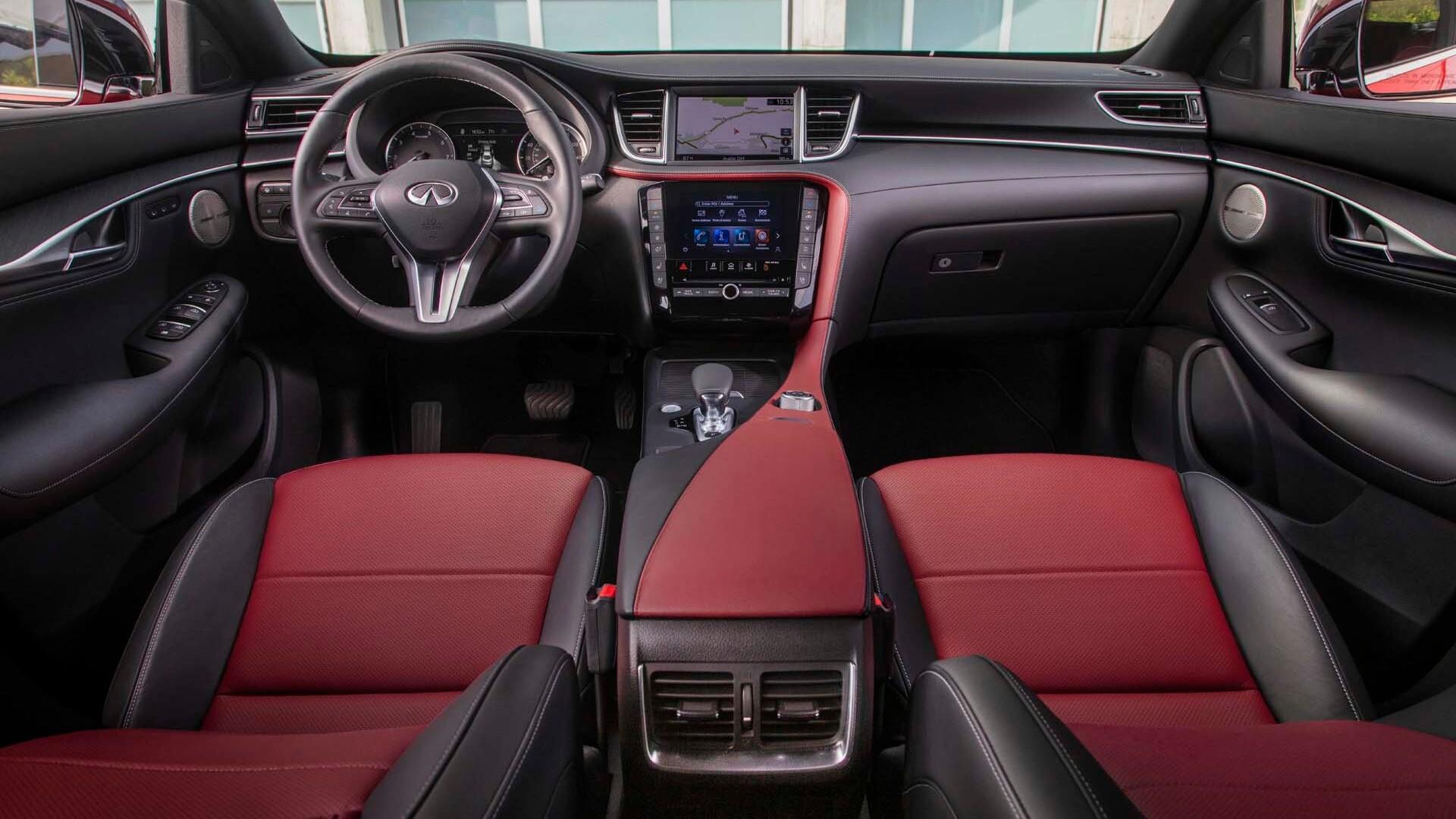 Infiniti QX55 interior