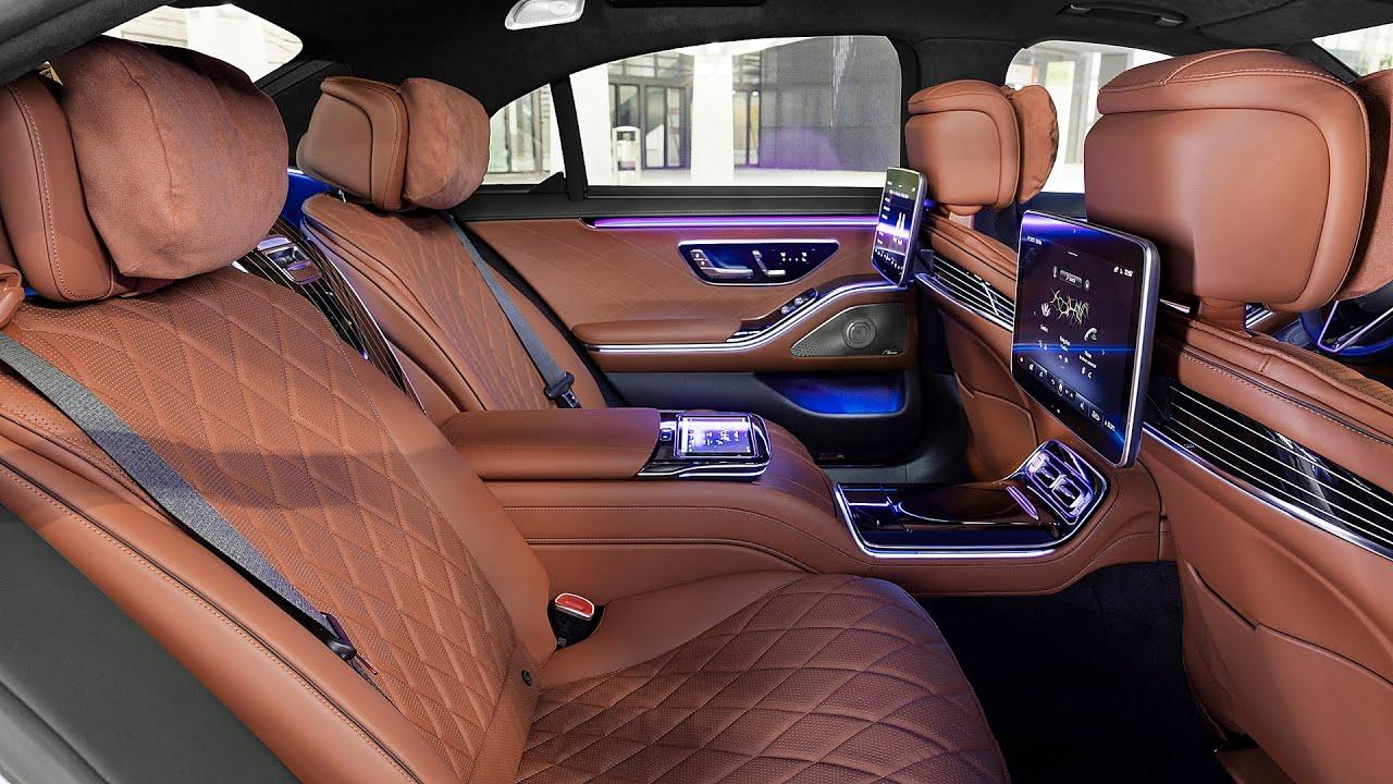 Mercedes S Class 2021 interior back