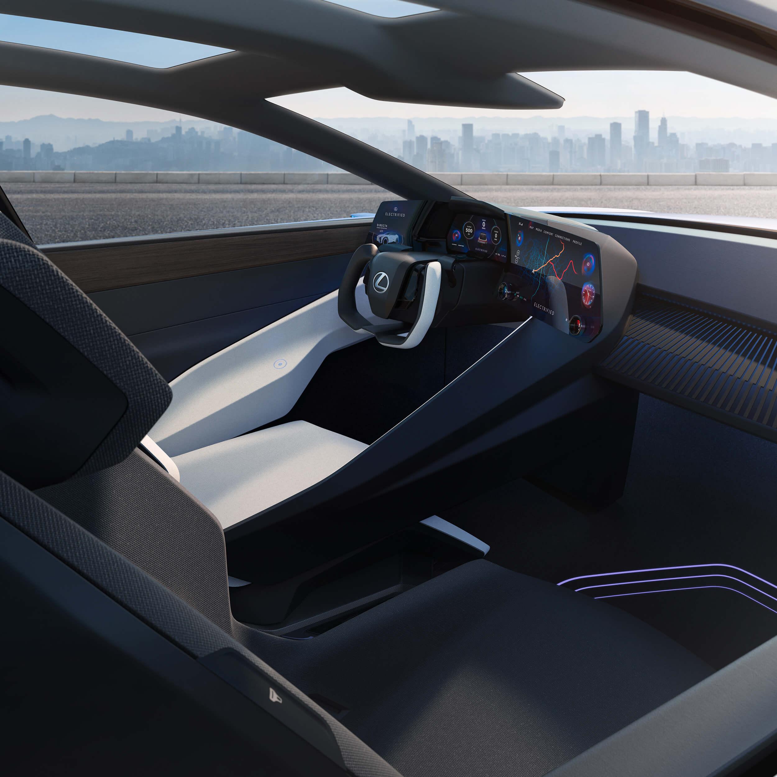 Electric Lexus EV
