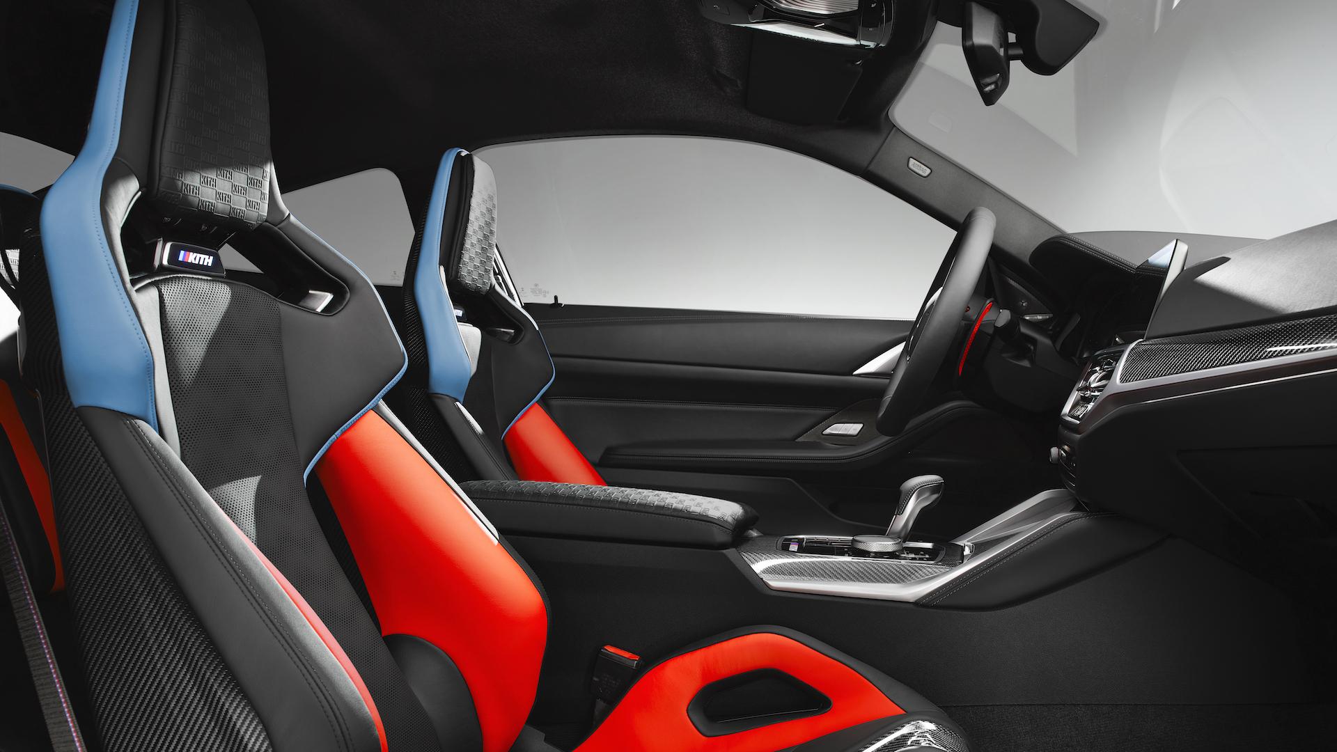 BMW M4 2022 interior