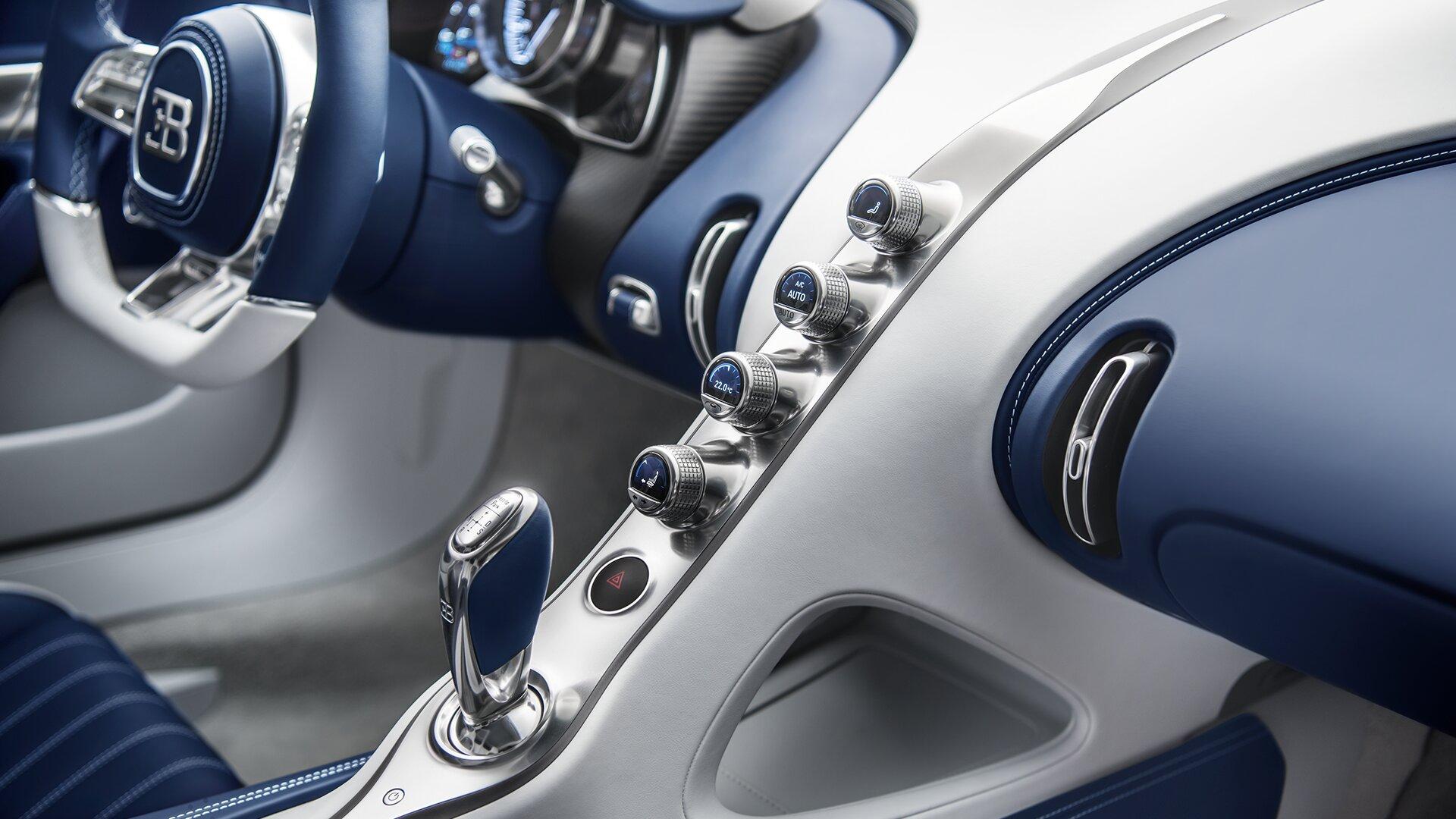 bugatti interior