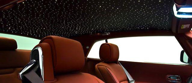 Car's Star Light Ceiling rolls royce
