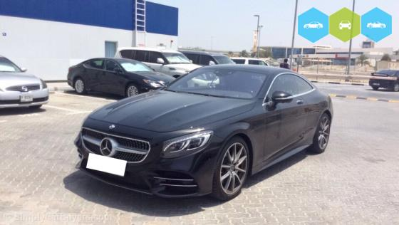 Mercedes-Benz S-Class Coupe 2019