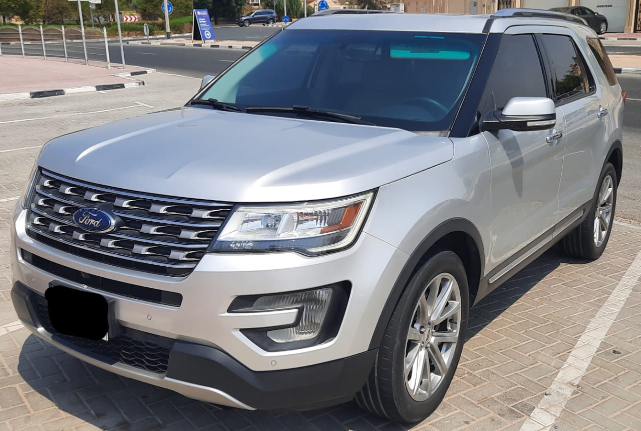 Used Ford Explorer Limited 2017 For Sale In Dubai