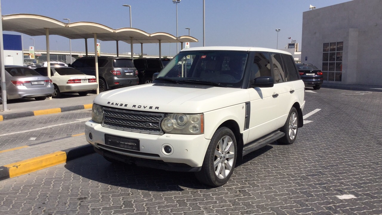 Used Land Rover Range Rover Vogue Supercharge 2007 For Sale In Dubai