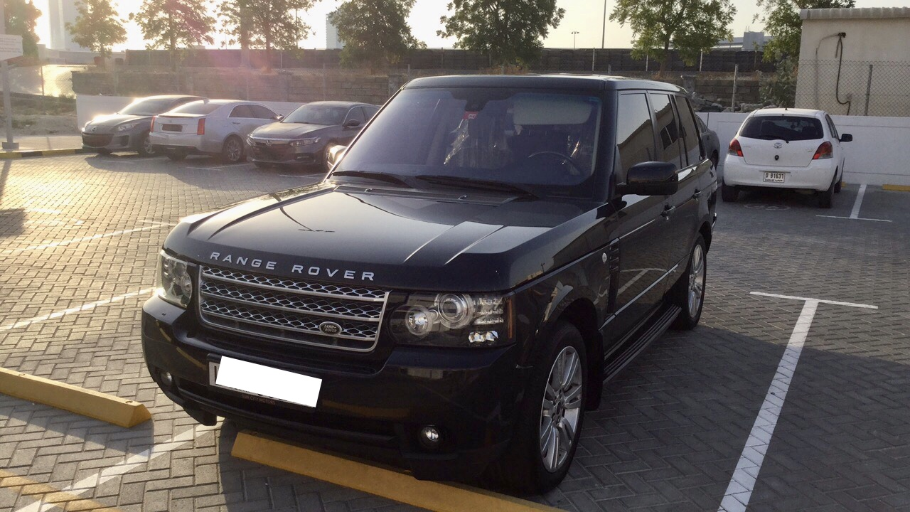 Used Land Rover Range Rover HSE 2012 For Sale In Dubai