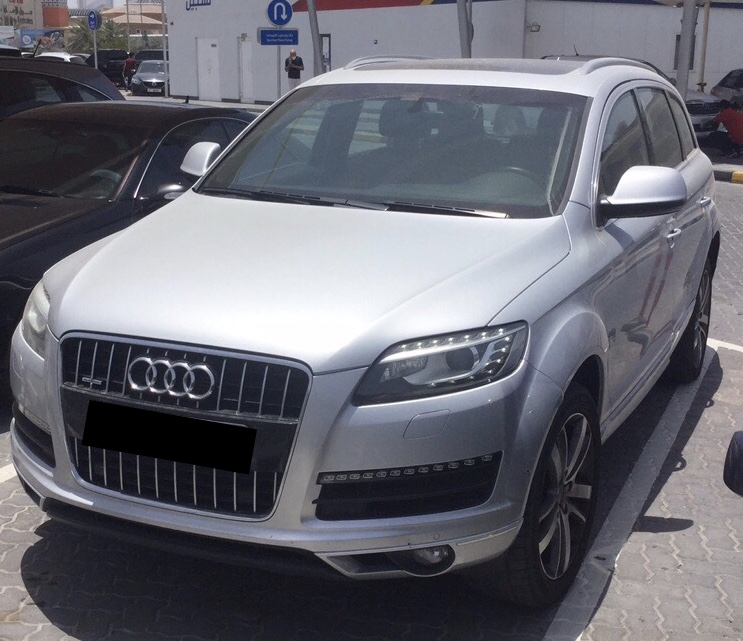 Used Audi Q7 3.0L V6 4x4 2014 For Sale In Dubai