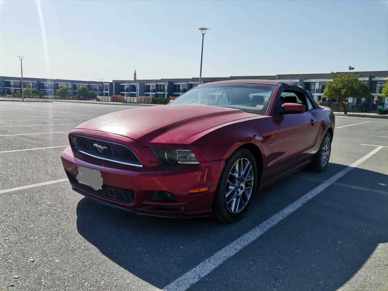 Used Ford Mustang Convertible 3.7L 2013 For Sale In Dubai