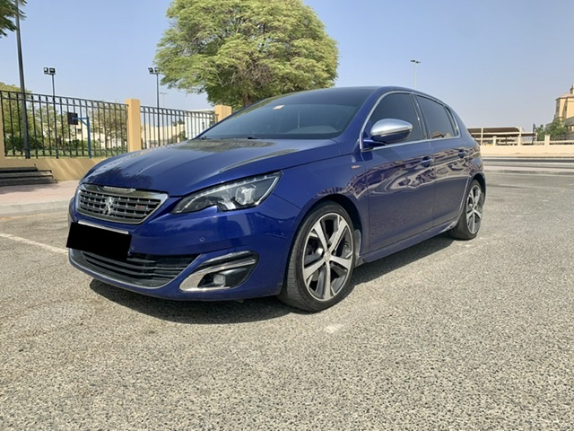 Used Peugeot 308 GT Line 2016 For Sale In Dubai
