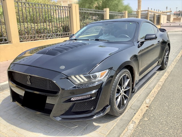 Used Ford Mustang 2.3L Ecoboost automatic 2017 For Sale In Dubai