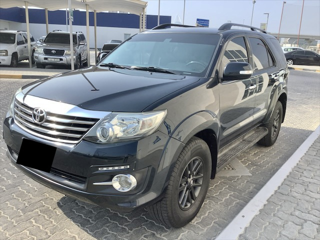 Used Toyota Fortuner 4.0L GXR 2015 For Sale In Dubai