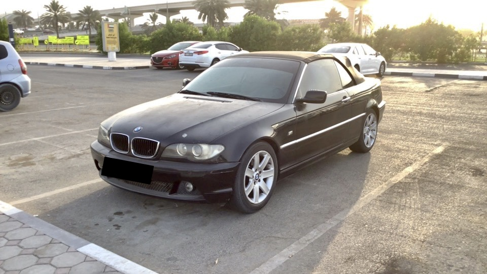 Used BMW 318 Convertible 2005 For Sale In Dubai
