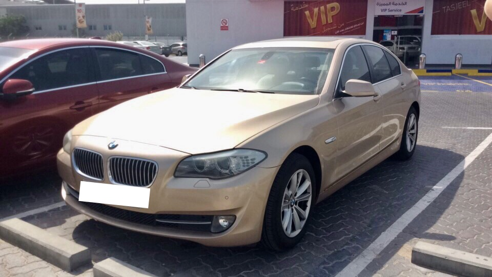 Used BMW 528i 2013 For Sale In Dubai