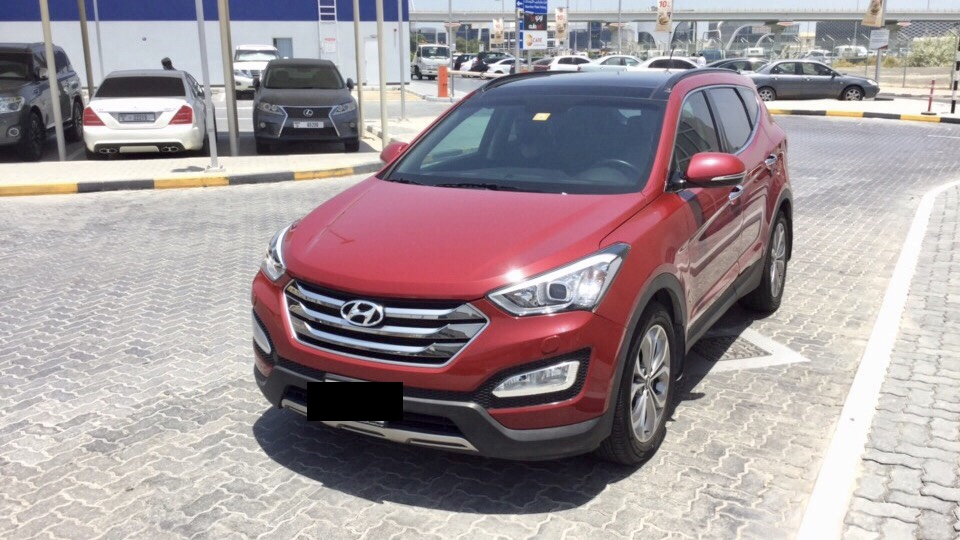 Used Hyundai Santafe 3.3L 2016 For Sale In Dubai