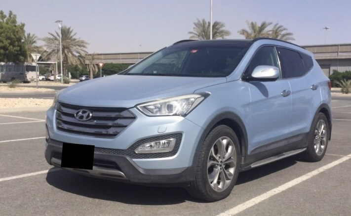 Used Hyundai Santafe 3.3L 2014 For Sale In Dubai
