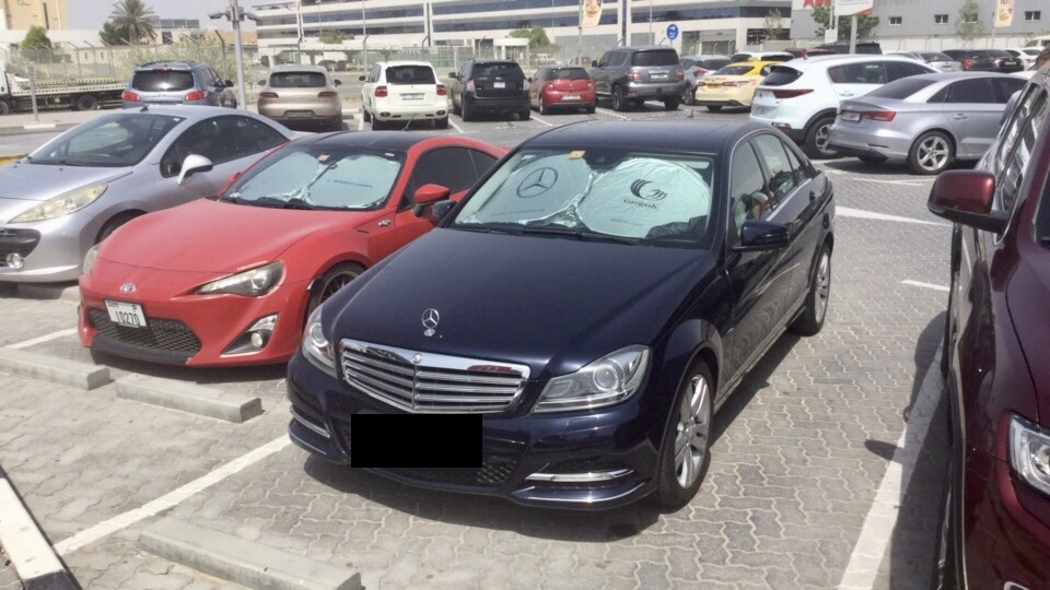 Used Mercedes-Benz C 200 2012 For Sale In Dubai