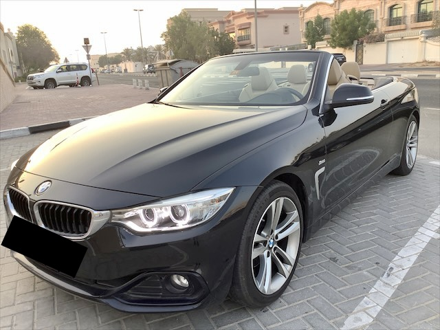 Used BMW 420i Convertible 2017 For Sale In Dubai