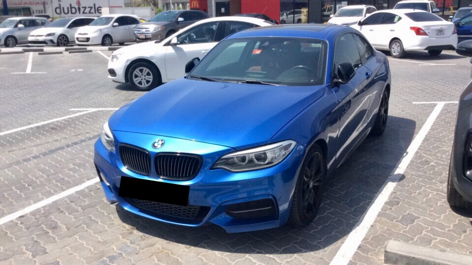 Used BMW M235i Coupe 2016 For Sale In Dubai
