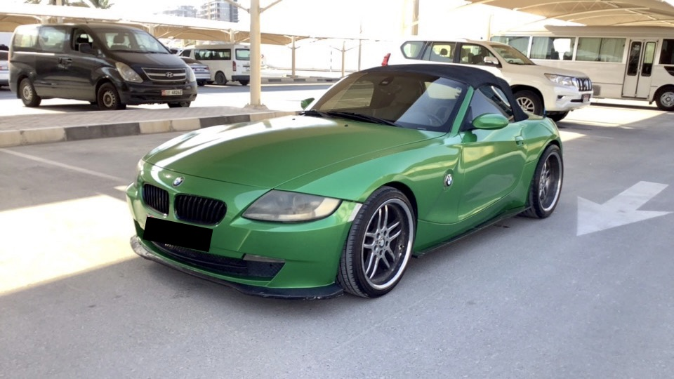 Used BMW Z4 3.0 Convertible 2007 For Sale In Dubai