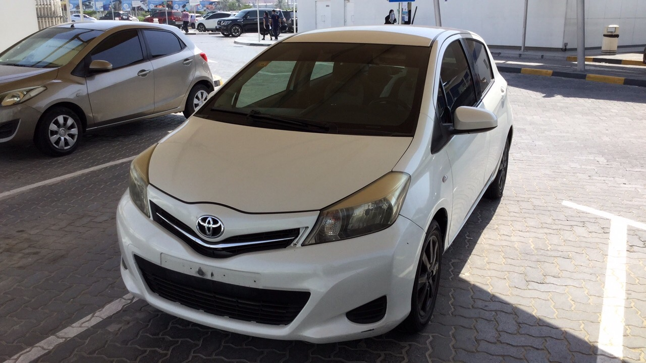 Used Toyota Yaris Hatchback 2014 For Sale In Dubai