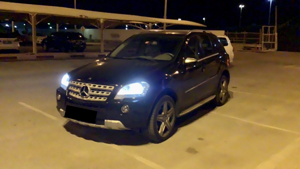 Used Mercedes-Benz ML 350 AMG 2009 For Sale In Dubai