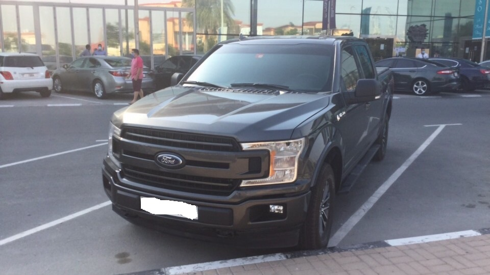 Used Ford F 150 3.5TC V6 Crew Cab XLT 2018 For Sale In Dubai