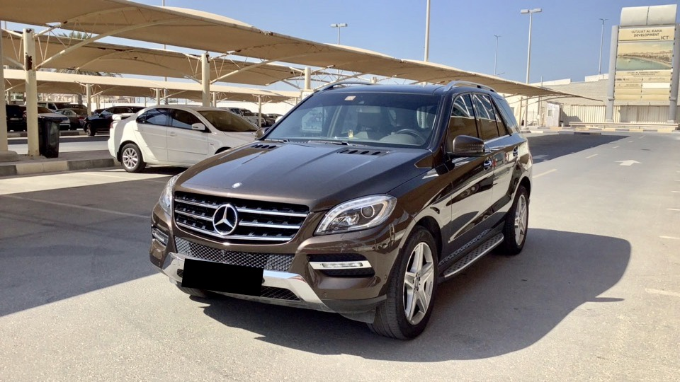 Used Mercedes-Benz ML 350 2014 For Sale In Dubai